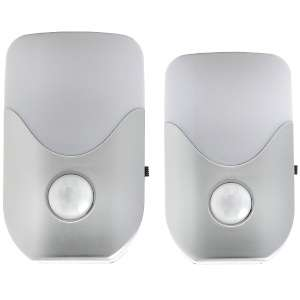 Set of 2 Battery Powered Motion Sensor LED Lights