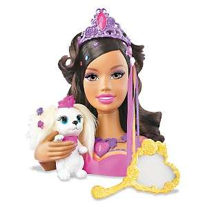 and The Diamond Castle Princess Liana Styling Head   African American