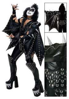 Authentic Gene Simmons Costume   Kiss Demon Rock the Nation Costumes