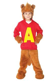 Home Theme Halloween Costumes TV / Movie Costumes Kids Alvin Chipmunk