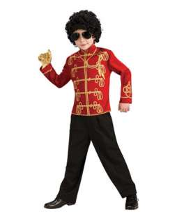 Michael Jackson Costumes from Thriller, Bad and Billie Jean Videos at