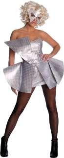 Lady Gaga Silver Sequin Dress   Lady Gaga Costumes