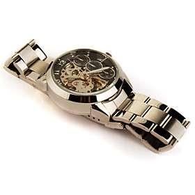 € 42.60   aço inoxidável relógio banda esqueleto automática com