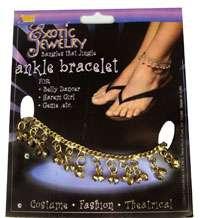 Belly Dancer or Gypsy Ankle Bracelet   Belly Dancer or Gypsy Costume
