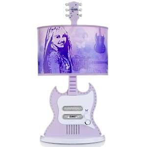 Disney Hannah Montana Guitar Style Lamp with  Speaker System
