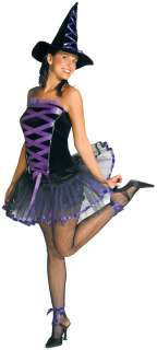 Purple Witchy La Bouf Witch Costume   Sexy Adult Witch Costumes