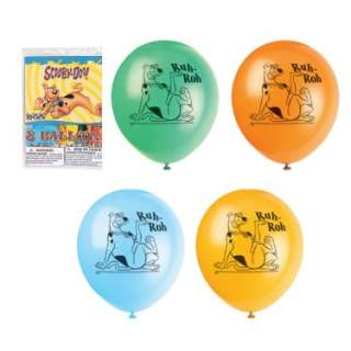 Halloween Costumes Scooby Doo Mystery Machine Latex Balloons (8 count)