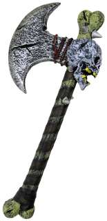 Bone Axe  Foam Costume Axe Weapon