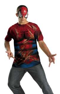Marvel Universe Spider Man Shirt Child/Adult Costume for Halloween