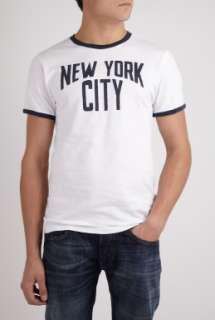 White John Lennon NYC T Shirt by Worn Free   White   Buy T Shirts
