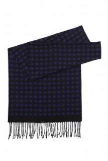 Fred Perry  Black and Blue Medallion Dress Scarf by Fred Perry