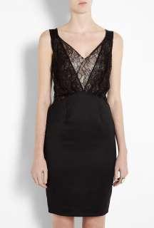 By Malene Birger  Black Aziza Lace Camisole Shift Dress By Malene