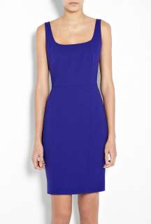 Moschino Cheap & Chic  Blue Crepe Pencil Dress by Moschino Cheap