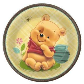 Baby Pooh and Friends 9 Dinner Plates (8 count)     1636987