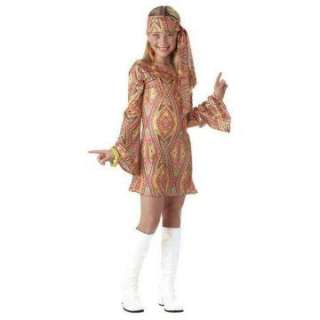 Disco Dolly Child Costume   Includes dress and head wrap. Boots and