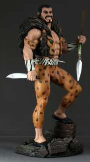 BOWEN DESIGNS Spider Man   KRAVEN THE HUNTER   STATUE