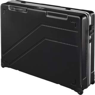 Each case includes two carry handles on the side and one folding pull