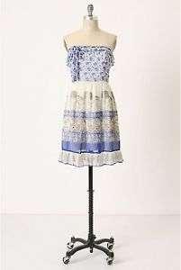 Anthropologie Pachyderm Parade Dress by Anna Sui Sz8,12