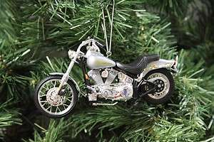 Harley Davidson 2001 Softail Standard Christmas Ornament