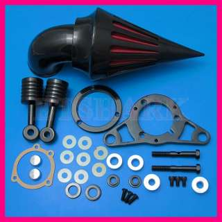 Harley Davidson Spike Air Cleaner Intake Filter Kit Softail EFI Night