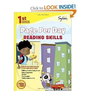 First Grade Page Per Day: Reading Skills (Page Per Day