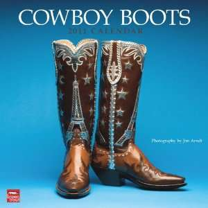 Cowboy Boots Wall Calendar 2011: Home & Kitchen