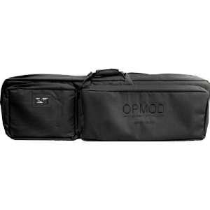 OPMOD Shooters Mat/Drag Bag, Double Rifle Case   Black OPMOD DGC B II