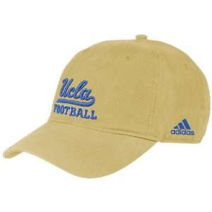 adidas UCLA Bruins Gold Football Slouch Hat Sports