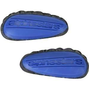 Mens Street Bike Racing Motorcycle Boot Accessories   Blue / One Size