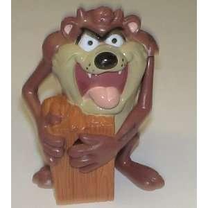 Vintage Looney Tunes Tasmanian Devile Plastic Figure Toys