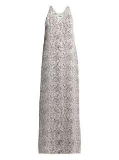 Magical print maxi dress  Acne