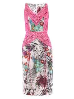 Lisanne floral print dress  Christopher Kane