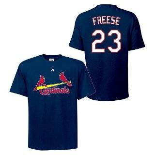 David Freese St.Louis Cardinals Player Shirt By Majestic