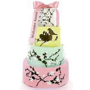 Pink Nest Finale Baby Girl Gifts Diaper Cake Baby