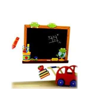 Kids Room Frogs Blackboard Wall Mural Sticker Decal
