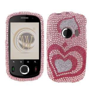 Huawei M835 Full Diamond Crystal Bling Protector Case   3d