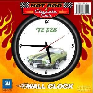 1972 Chevy Camaro Z28 12 Wall Clock   Chevrolet, Hot Rod