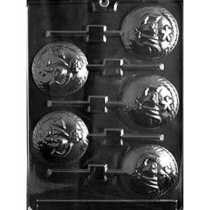 LOVE DISC LOLLY Valentine Candy Mold chocolate