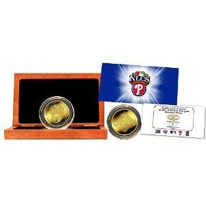 2008 National League Champions 24kt Pure Gold Coin