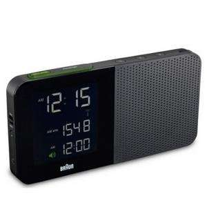 braun digital alarm clock radio BNC010