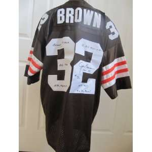 Cleveland Browns Signed Jersey # 32 Jim Brown Sports