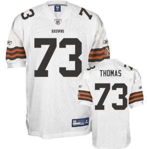 Joe Thomas Jersey Reebok Authentic White #73 Cleveland Browns Jersey
