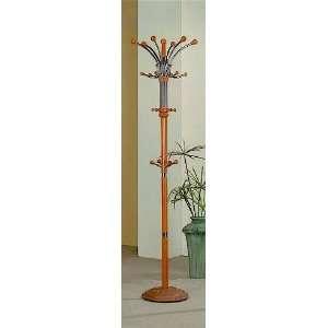 Modern Decor Entryway Hall Tree Coat Rack With Six Hangers