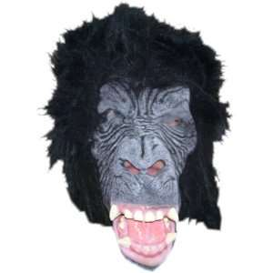 Deluxe Mask with Black Hair Costume Accessory