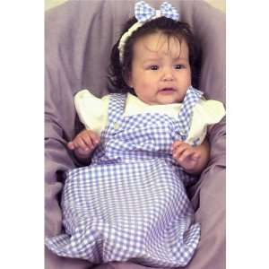 Lets Party By Charades Costumes Baby Dorothy Newborn Costume / Blue