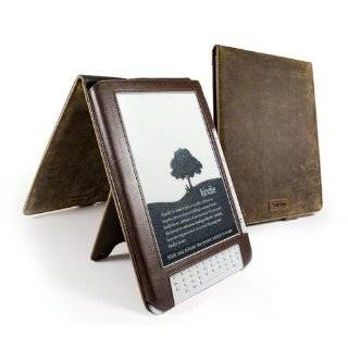 Tuff Luv Tri Axis Leather Case Cover For  Kindle DX / DX