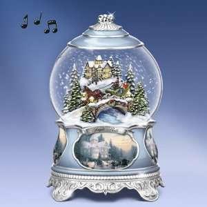 Exchange Thomas Kinkade Jingle Bells Snow Globe