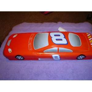DALE EARNHARDT JR COLLECTIBLE CAR SHAPED KNIFE SET TIN
