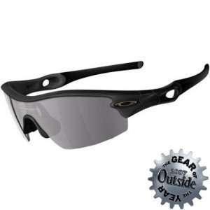 Radar Pitch Sunglasses Matte Black/Gray, One Size