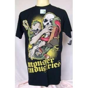 Rock Punk Biker Metal Skull Death Monster T Shirt L Everything Else